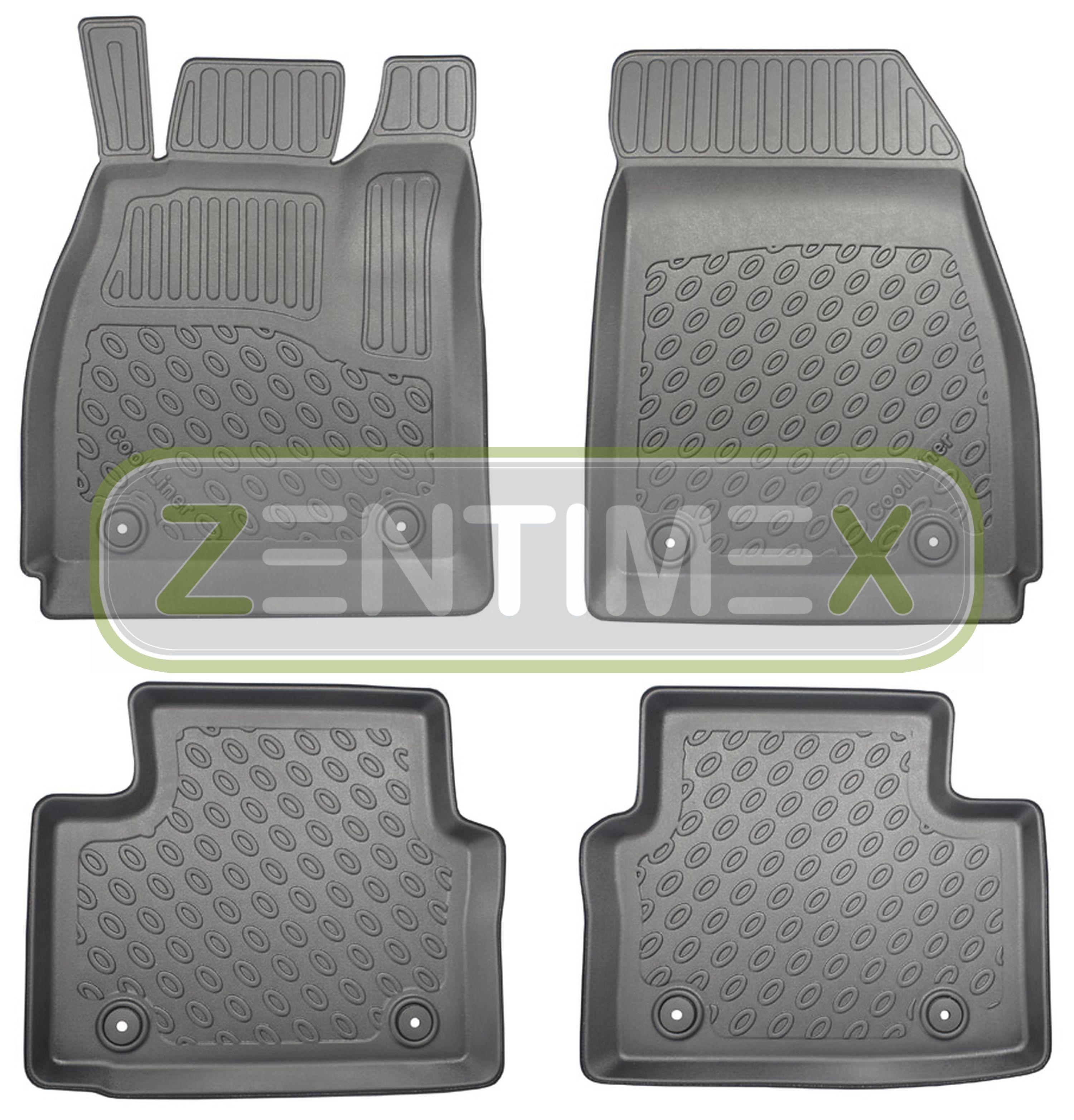 Premium-3D-TPE-Gummifußmatten für Opel Insignia OPC A Liftback Fließheck Schrä23