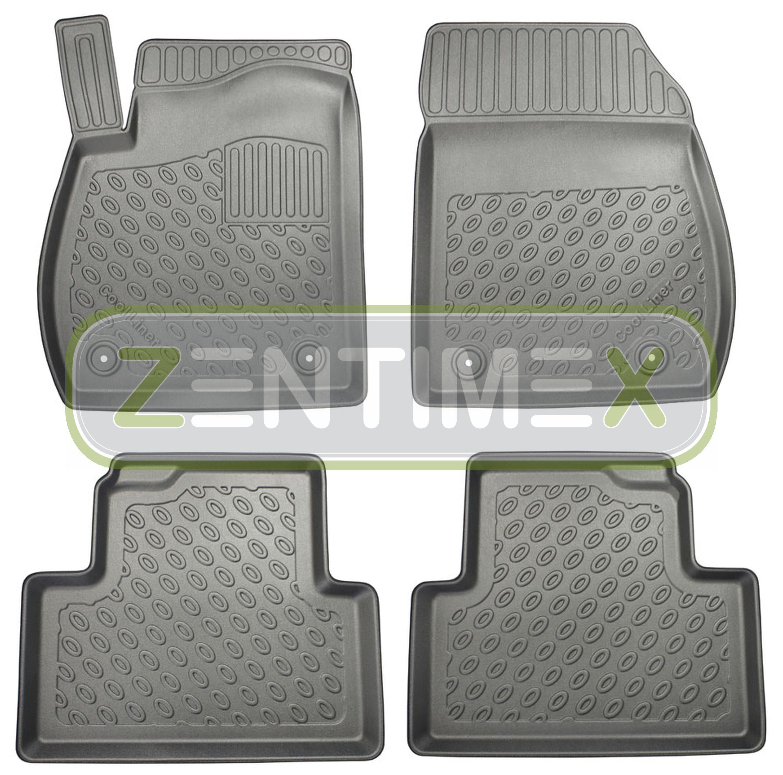 Premium-3D-TPE-Gummifußmatten für Opel Zafira Selection C Tourer Van Kombi 5-t1A