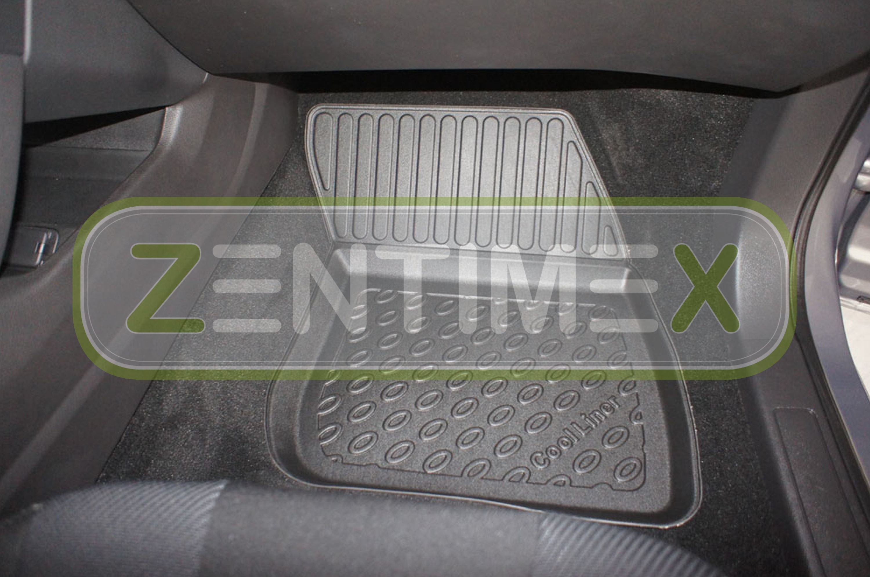 Premium-3D-TPE-Gummifußmatten für Ford Mondeo Business Edition 5 Limousine Stu40