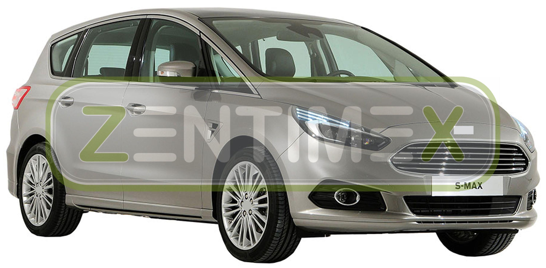 Premium goma tapices para Ford S-Max 2 van combi 5-puertas 2015-7 escaños 5e 3d-tpe