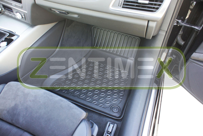 Premium-3D-TPE-Gummifußmatten für Audi A6 C7 4G Facelift Avant Kombi 5-türer 21D