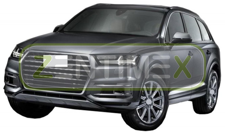 Premium-3D-TPE-Gummifußmatten für Audi SQ5 2 FY Steilheck Geländewagen SUV 5-tüF