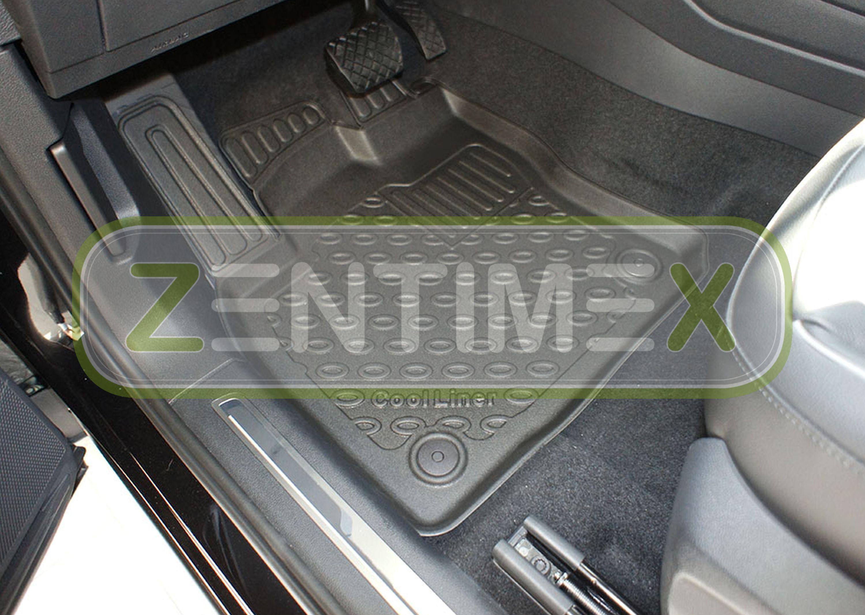 TPE 3D Premium per Skoda Kodiaq Scout SUV 5-porte 2016-7 6 Tappetini in gomma