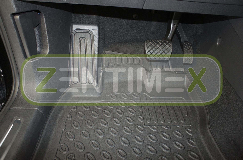 Premium-3D-TPE-Gummifußmatten für VW Volkswagen Tiguan Allspace 2WD Vorderrada1D
