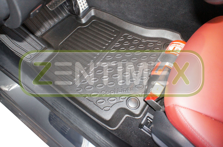 TPE 3D Premium per Mercedes Classe C W205 Berlina 4-port 14 Tappetini in gomma
