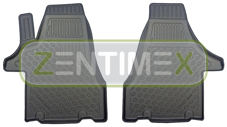 Premium-3D-TPE-Gummifußmatten für VW Volkswagen T6 Transporter Kastenwagen 2011E