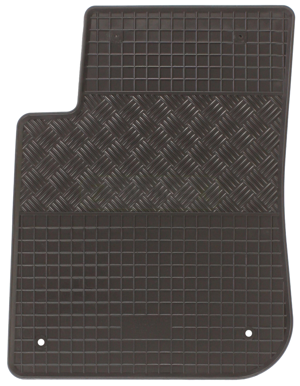 gummifu matten f r peugeot 208 2012 schr gheck hatchback. Black Bedroom Furniture Sets. Home Design Ideas