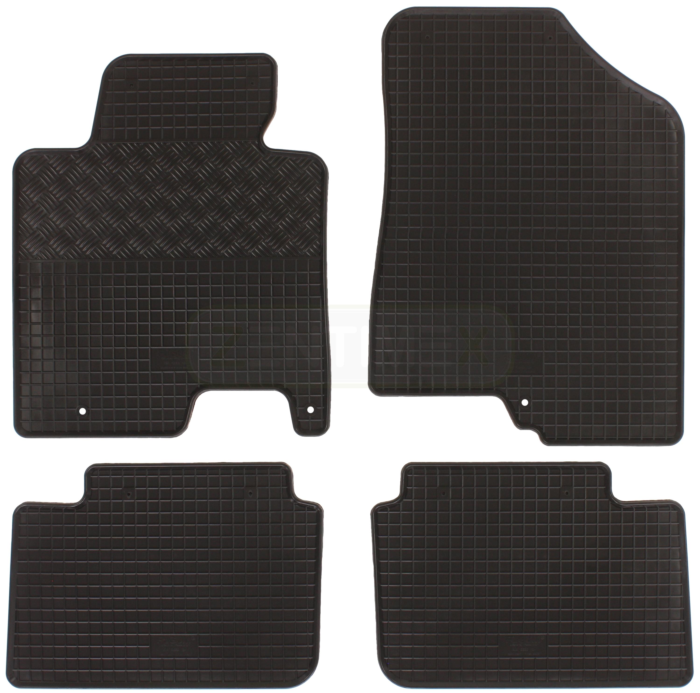 gummifu matten f r kia cee 39 d ceed 2 jd 2012 4tlg ebay. Black Bedroom Furniture Sets. Home Design Ideas