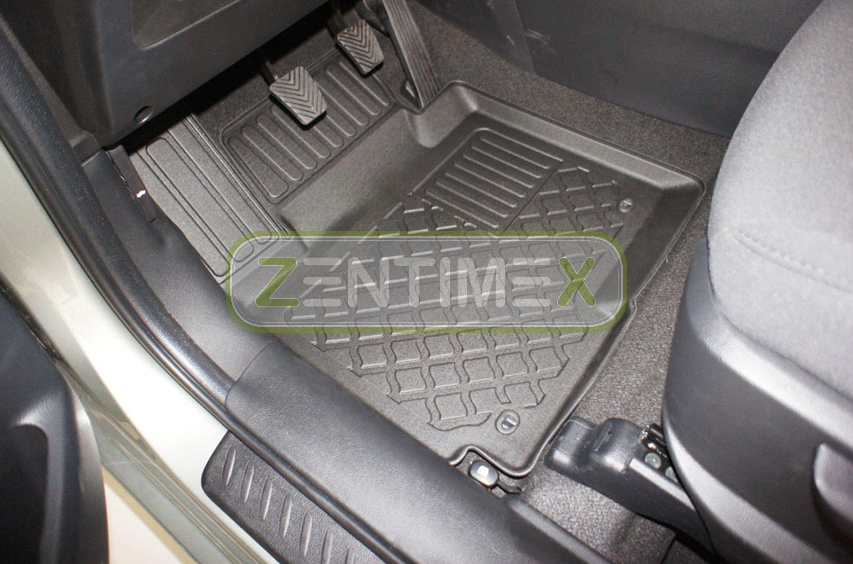 Tappetini in gomma TPE 3D Design per Kia Carens Edition 7 4 RP Van Wagon 5-2C