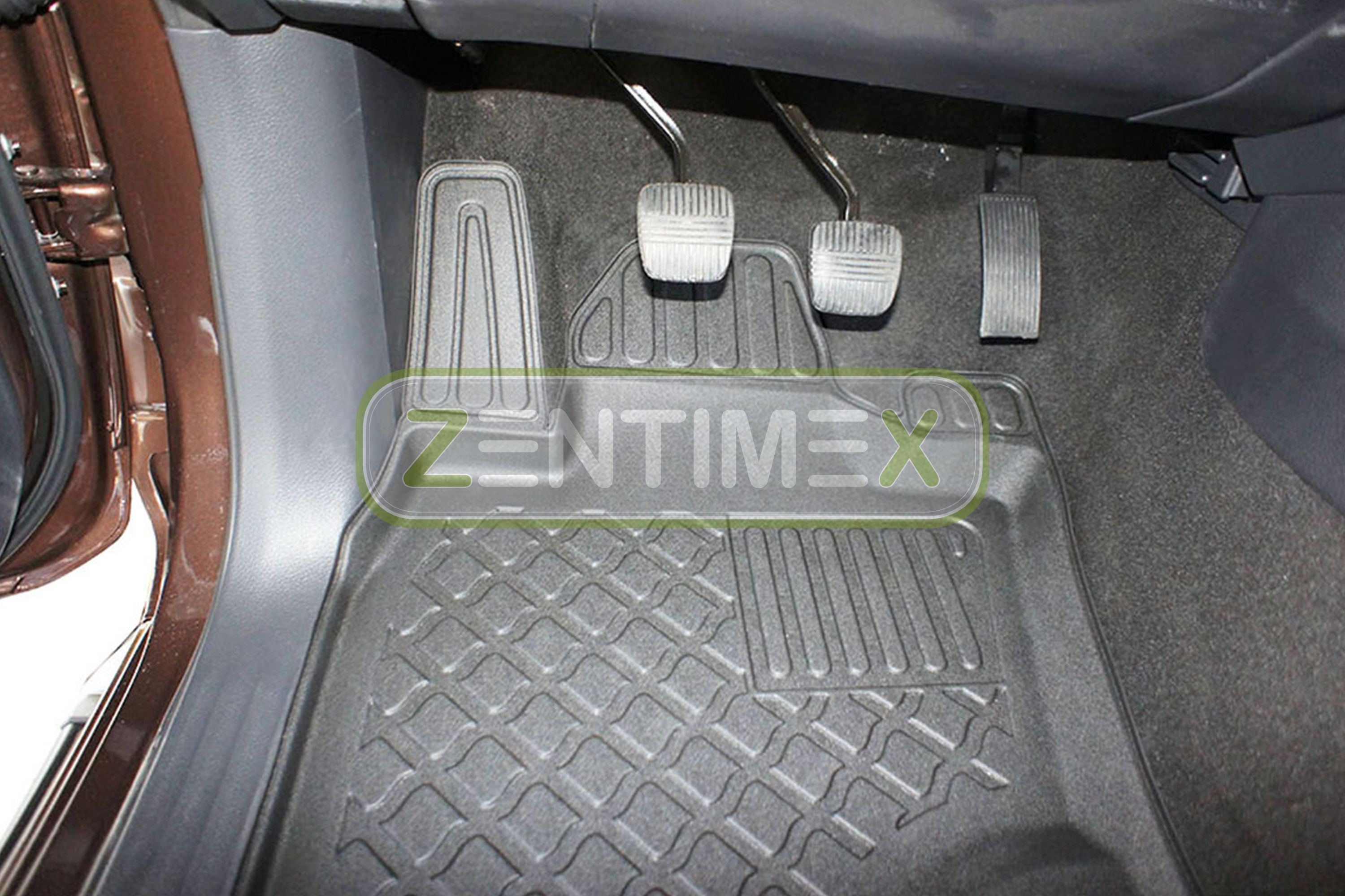 TPE 3D Design per Nissan Navara N-CONNECTA NP300 Pick-Up  0 Tappetini in gomma
