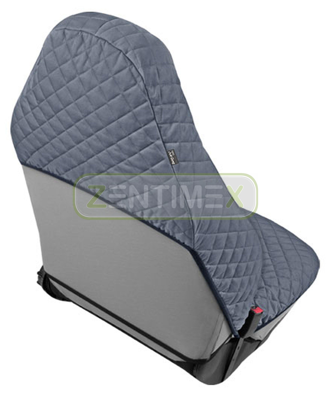 Funda del asiento klimatisierend gris para opel corsa e berlina hatchback 5-puertas 09.1