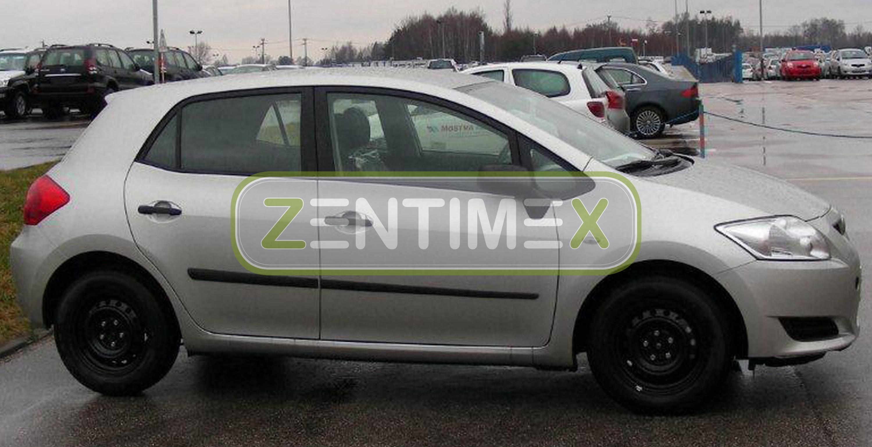 Fußmatten Gummifußmatten für Toyota Auris 1 E150 2007-2012 Schrägheck Hatchback 5-türer 62