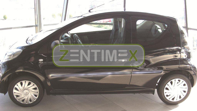 Schrägheck Hatchback 3-türer Gummifußmatten für Citroen C1 2 2014
