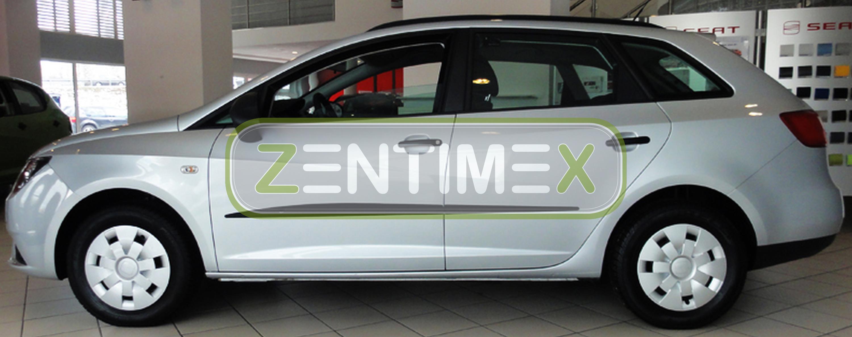 Gummifußmatten für Seat Ibiza 6J 2008 Schrägheck Hatchback 5-türer 4tlg