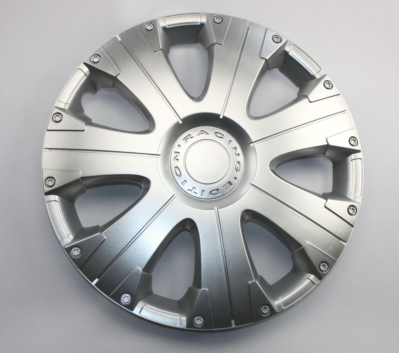 Radkappen SATZ 16 Zoll RACING silver 4-Stück ABS KIT