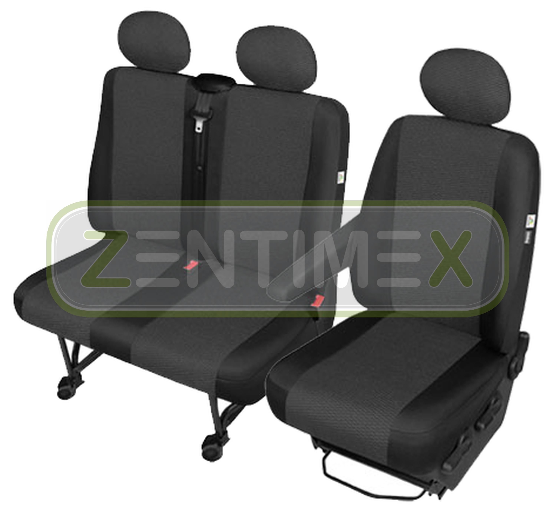 sitzbez ge schonbez ge set aa vw t5 transporter stoff. Black Bedroom Furniture Sets. Home Design Ideas