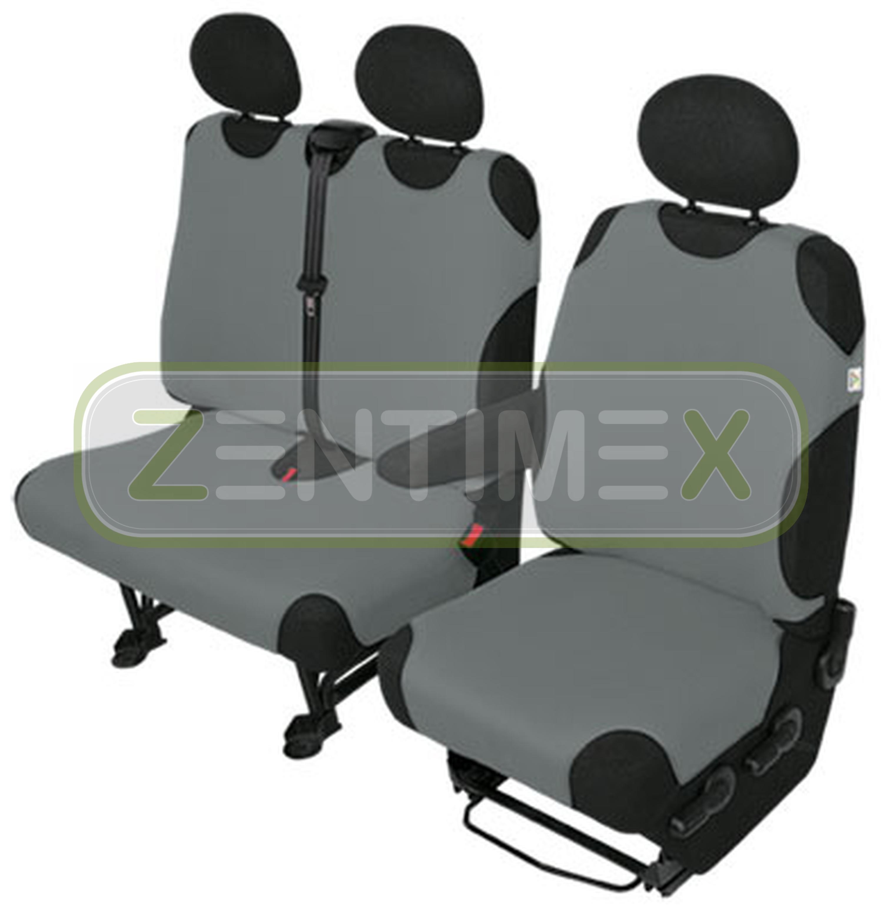 Sitzbezüge Schonbezüge SET AHH VW T4 Caravelle Stoff schwarz