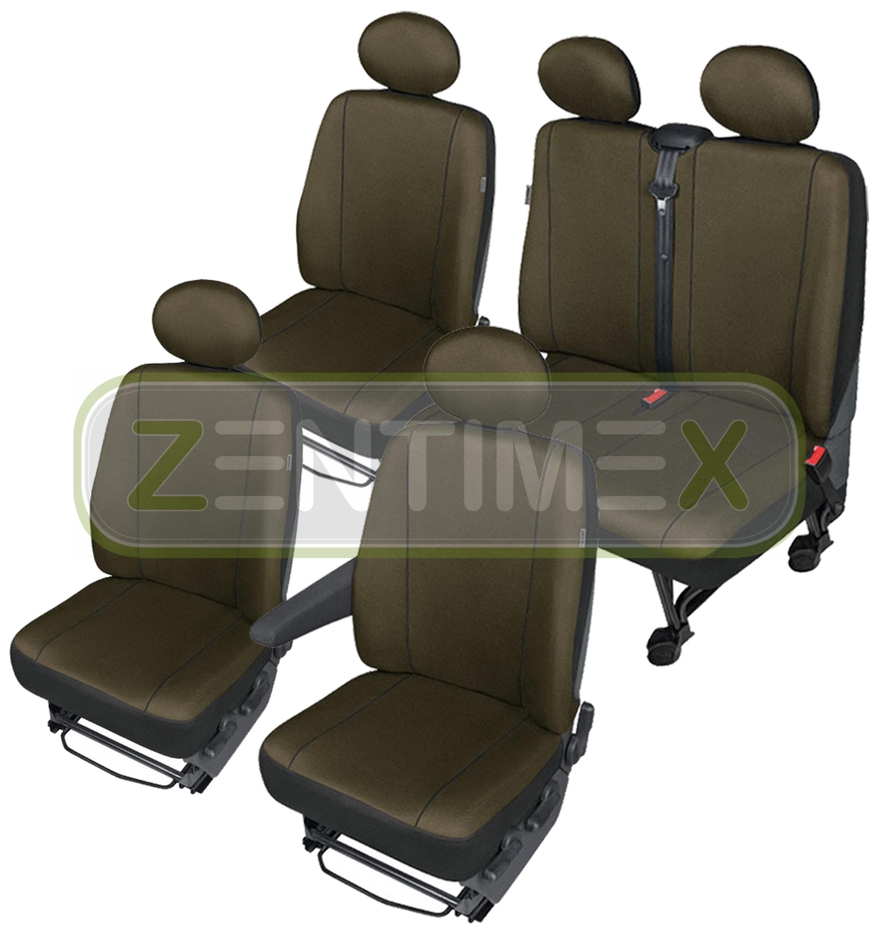 sitzbez ge schonbez ge set bz vw t5 transporter stoff. Black Bedroom Furniture Sets. Home Design Ideas