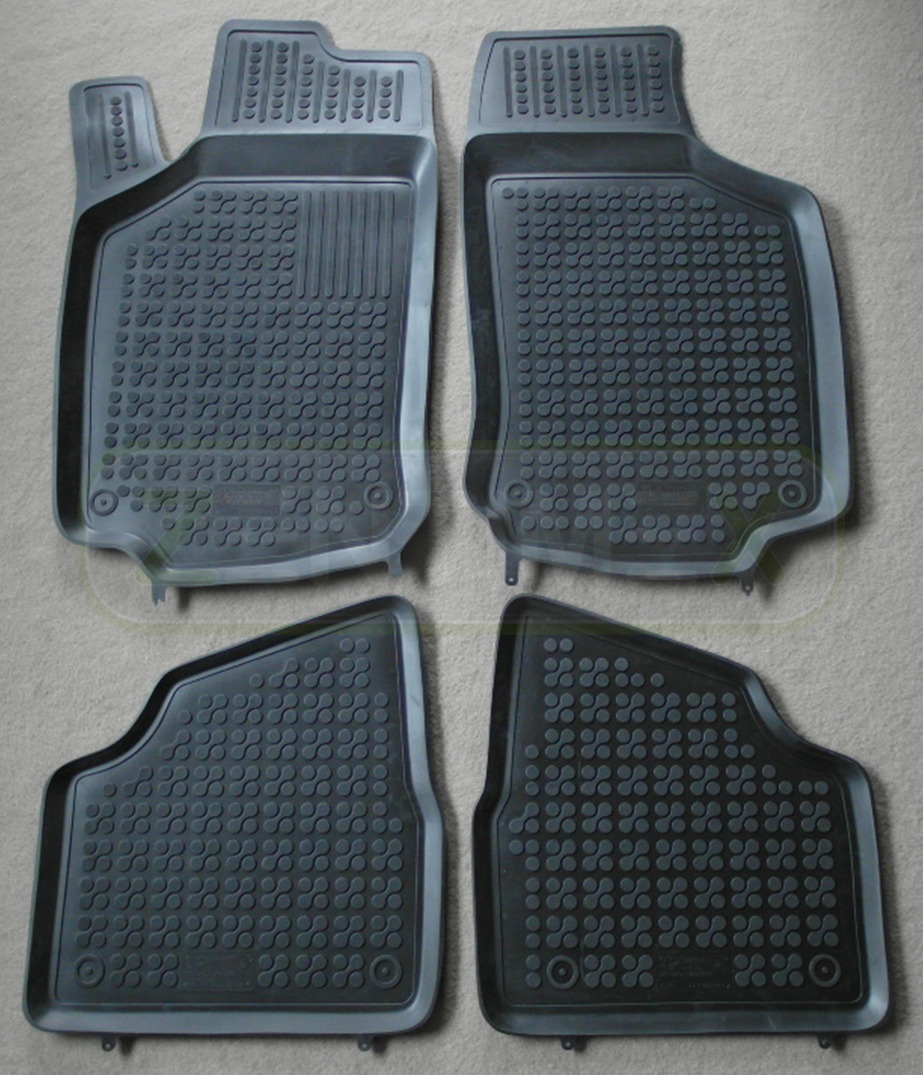 Fußmatten RAU Fussmatten ACTION schwarz für Ford Tourneo Kombi Connect Bj 03/03-02/07 Innenausstattung