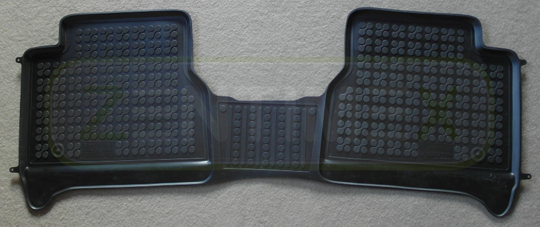 Gummifußmatten für Ford Transit Connect 2 Kastenwagen 2013 schwarz Schalenmatte