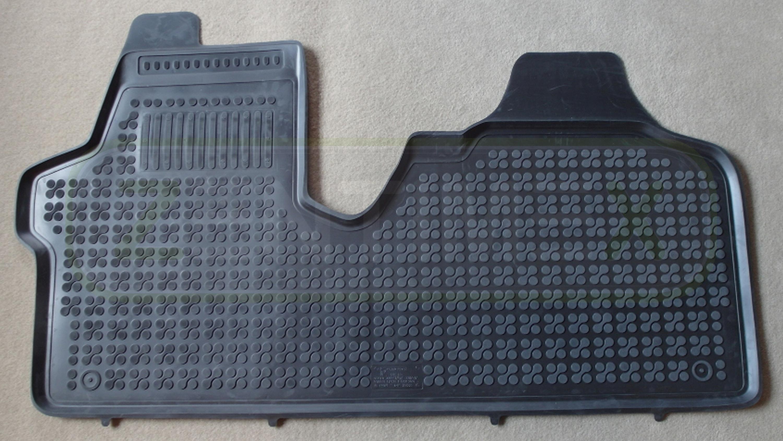 Fahrerbereich Verstärkt Schwarz Schalen Innenausstattung Gummifußmatten Für Citroen Jumpy 2 2007 Fußmatten