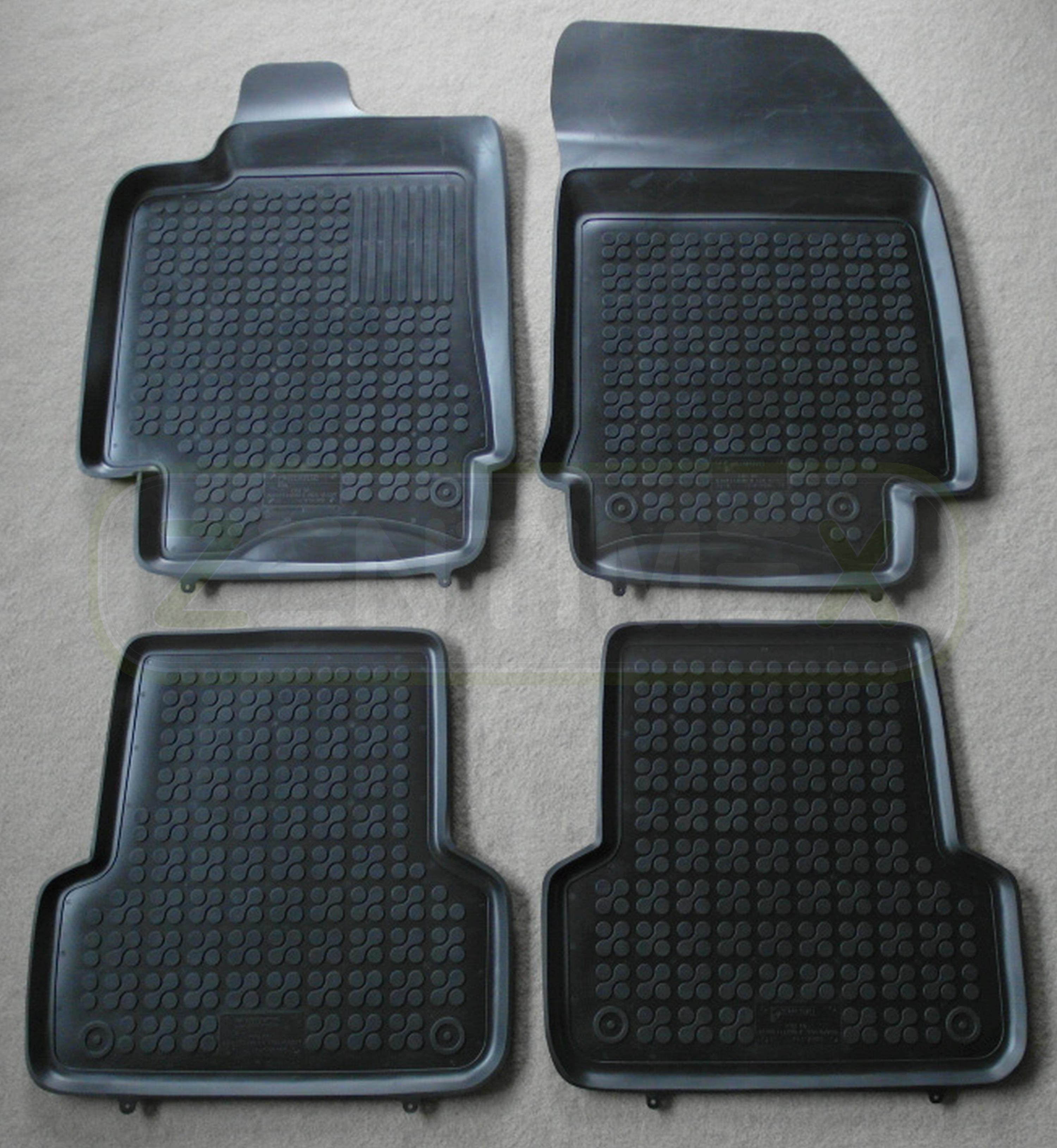 gummifu matten f r renault laguna 3 grandtour kombi 5 t rer 2008 schwarz schale ebay. Black Bedroom Furniture Sets. Home Design Ideas