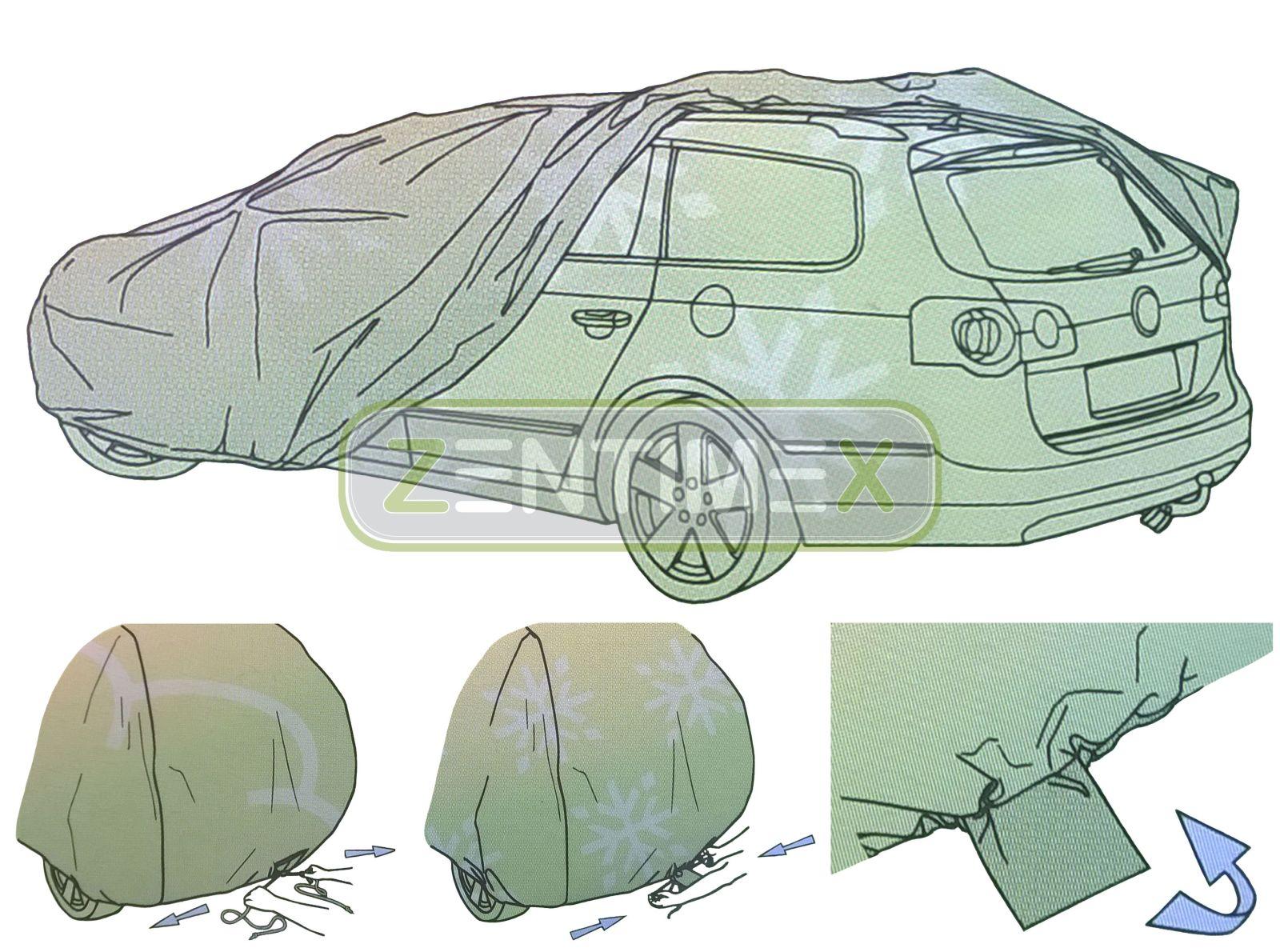 4-lagige Membran Vollgarage für VW Volkswagen Jetta 2 Stufenheck Limousine 4-tür