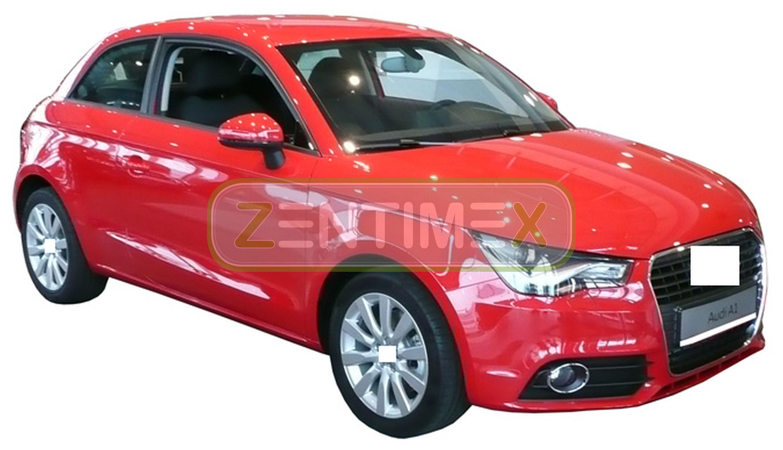 Kofferraumschutzdecke für Audi A1 Sportback 8X Schrägheck Hatchback 5-türer 09.1