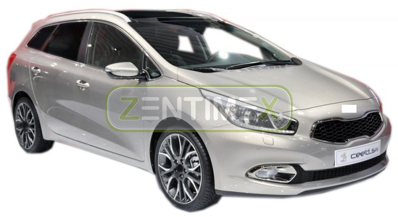 Zigrinati TAPPETINO VASCA PER KIA CEE /'D CEED SW 2 JD Facelift Sporty Wagon Komb
