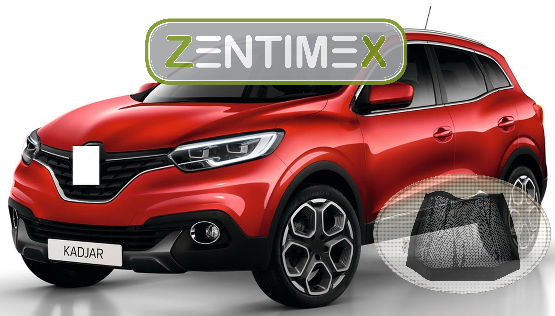 Z332745 Gerippte Kofferraumwanne Klett-Netz für Renault Kadjar 2x4 Steilheck G