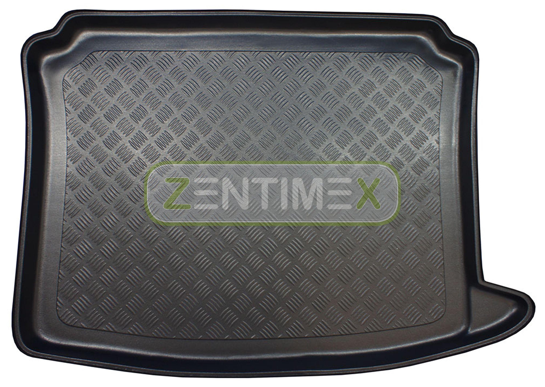 Geriffelte Kofferraumwanne für Seat Exeo ST 3R5 Kombi 5-türer 2009-2013