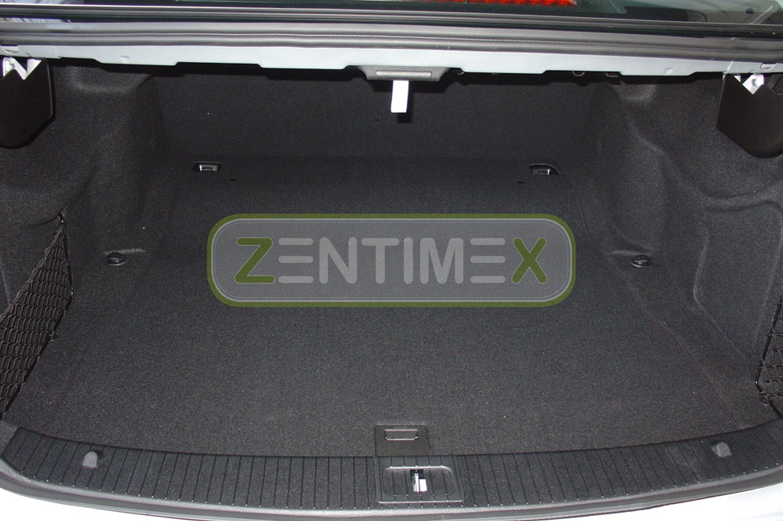 Geriffelte Kofferraumwanne für Mercedes C-Klasse W204 W 204 Facelift Limousine5B