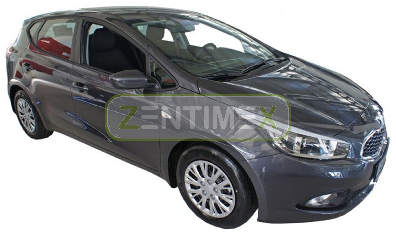 Geriffelte Kofferraumwanne für Kia Cee/'d Ceed 2 JD Schrägheck Hatchback 5-türe1A