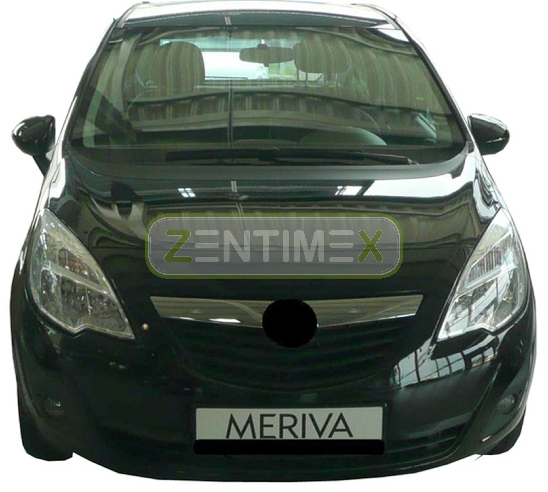 erhöhte L Kofferraumwanne für Vauxhall Meriva B Facelift Van Kombi 5-türer 2013