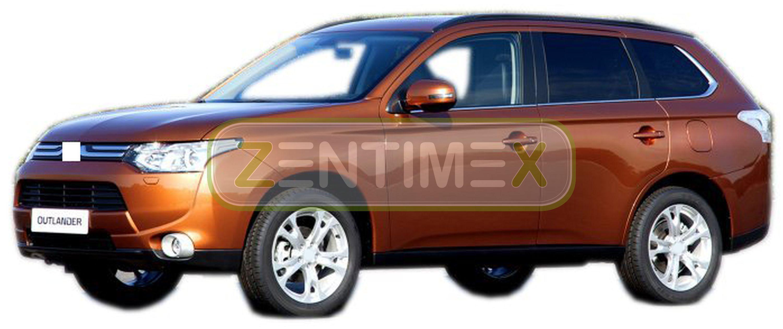 Geriffelte Kofferraumwanne für Mitsubishi Outlander Plug-In Hybrid PHEV Plus 349