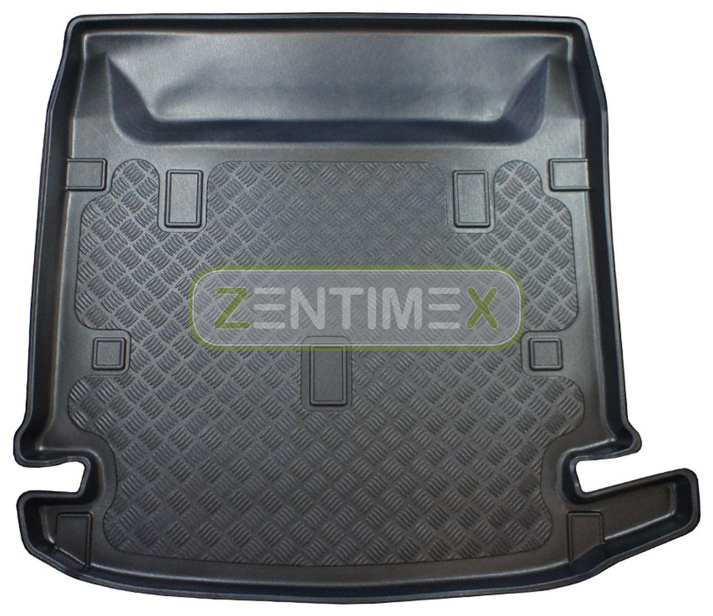 Geriffelte Kofferraumwanne für Dacia Lodgy Prestige Van Kombi 5-türer 2012-7Sit