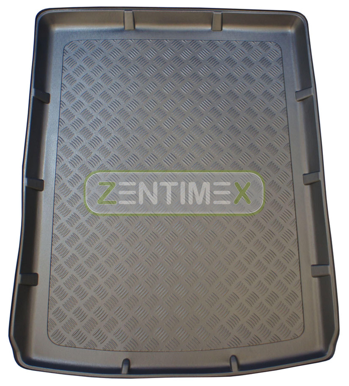 geriffelte kofferraumwanne für audi a6 c7 4g facelift avant kombi 5