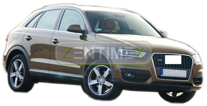 Kofferraumwanne für Audi Q3 8U Vor-Facelift Steilheck Geländewagen SUV 5-türer3B