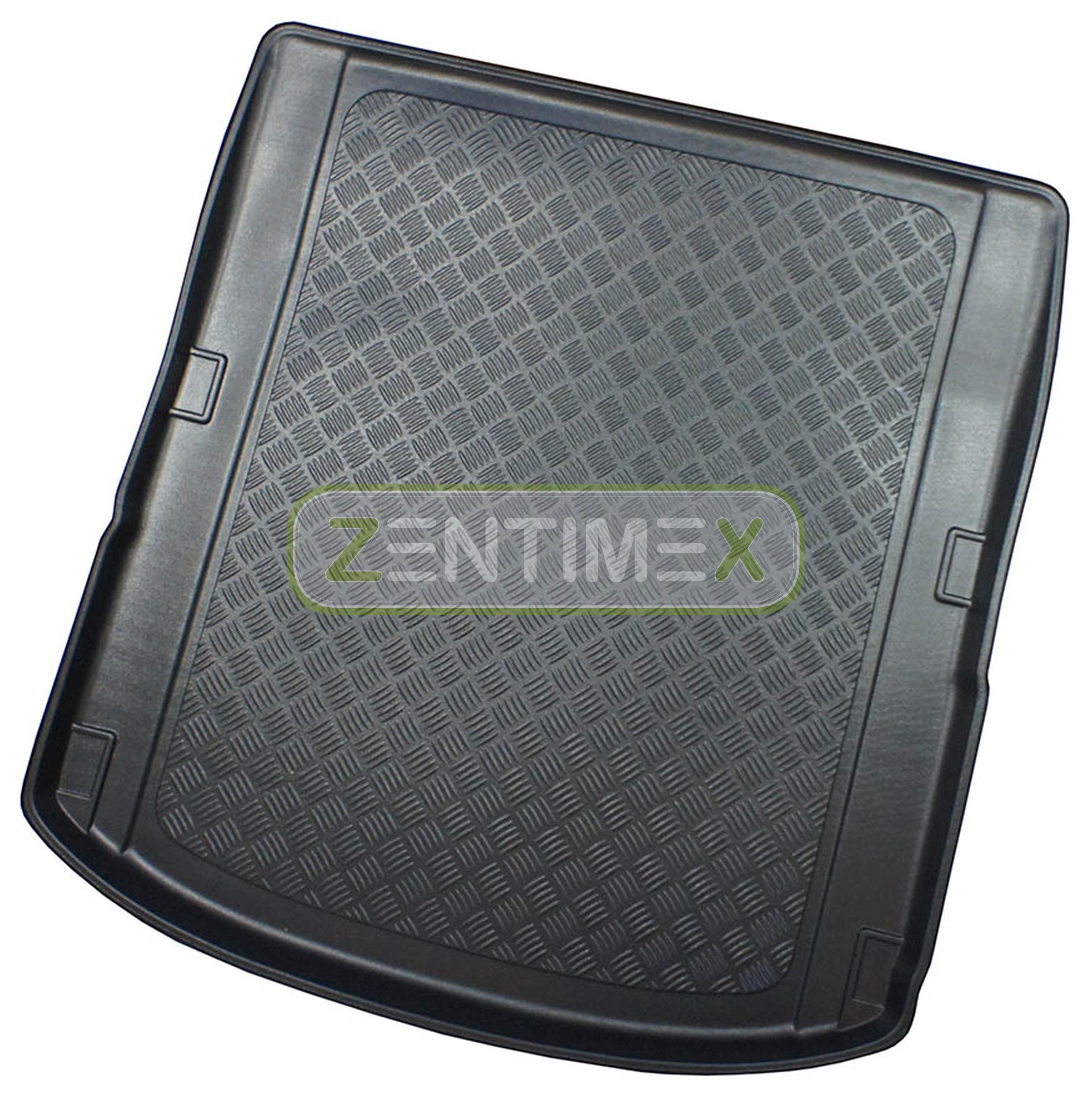 Corrugated Boot Mat Trunk Liner For Audi A4 S-Line Quattro