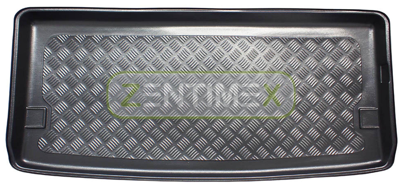 Radsta Geriffelte Kofferraumwanne für Volkswagen T5 Multivan Kurz Facelift 2009