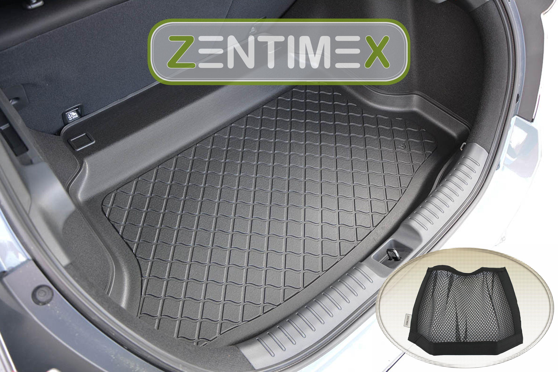 Gummierte Kofferraumwanne für Honda Civic 10 FC FK Schrägheck Hatchback 5-türer
