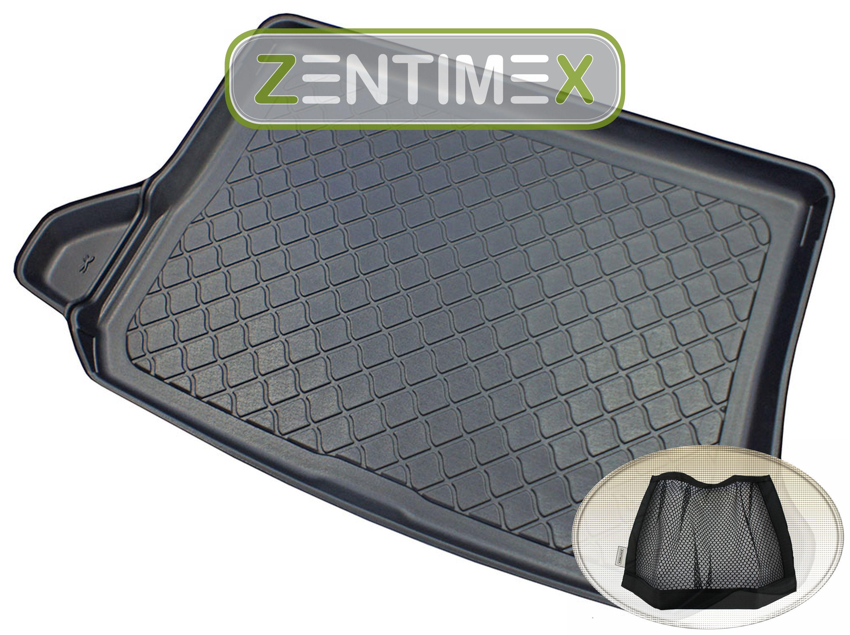 Netztasche für  Audi Q5 Design 2 FY Steilheck Geländewag10 Kofferraumwanne TPE