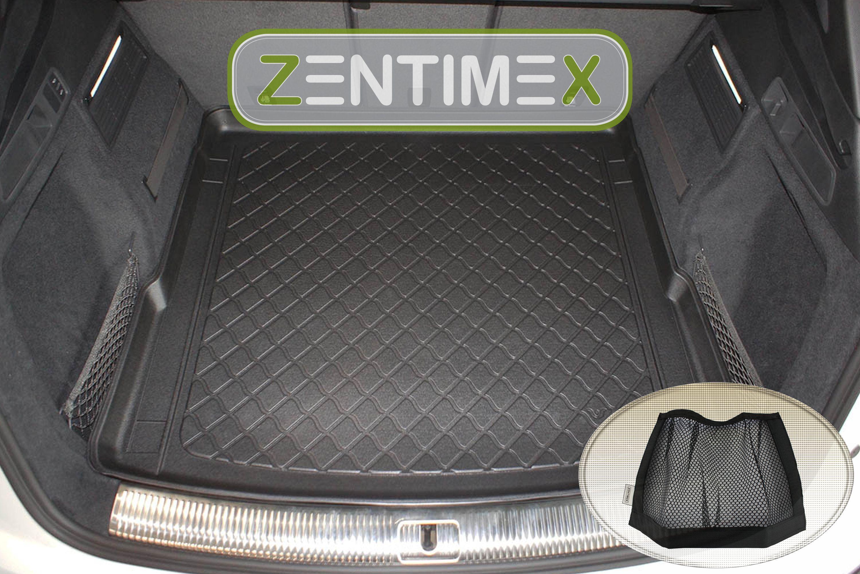 Gummierte Kofferraumwanne für Audi SQ5 2 FY Steilheck Geländewagen SUV 5-türer 2