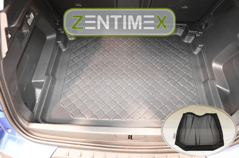 Kofferraumwanne TPE Netztasche für  Opel Grandland X Innovation Steilheck Ge31