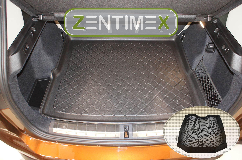 Netztasche für  BMW X1 xLine F48 Steilheck Geländewagen 4C Kofferraumwanne TPE