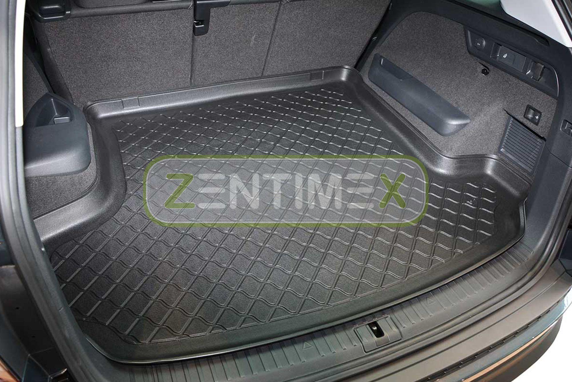 Kofferraumwanne Matte Skoda Kodiaq 4x4 7-Sitzer Antirutsch Laderaumwanne