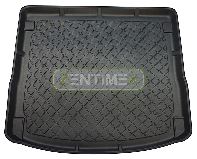Gummierte Kofferraumwanne für Ford Focus Ambiente 3 Turnier Kombi 5-türer 2011
