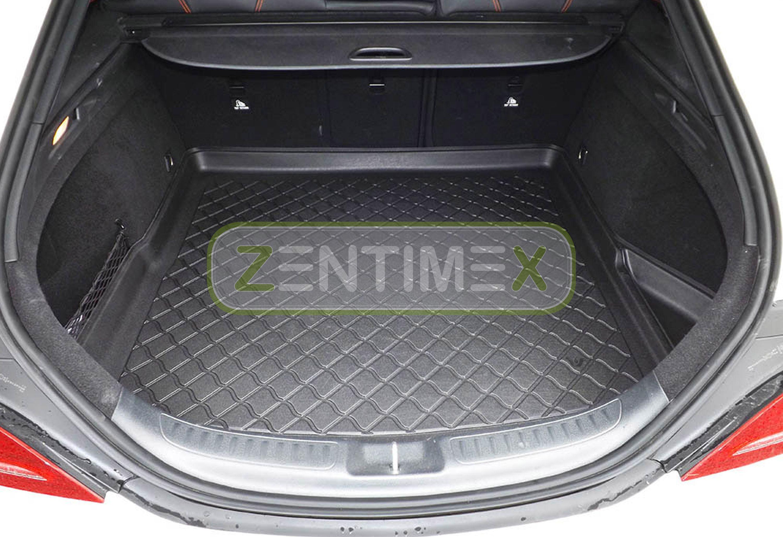 Gummierte Kofferraumwanne für Mercedes CLA-Klasse Shooting Brake Urban X117 Komb
