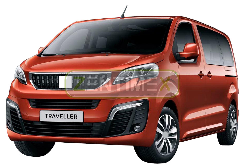 Gummierte Kofferraumwanne für Toyota ProAce Verso Family Comfort PKW Van 2016-
