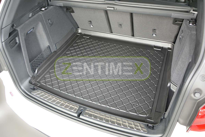 Gummierte Kofferraumwanne für BMW 2er Active Tourer Sport Line F45 Van Kombi 516